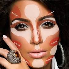 How to Highlight Contour by Kim Kardashion Contouring