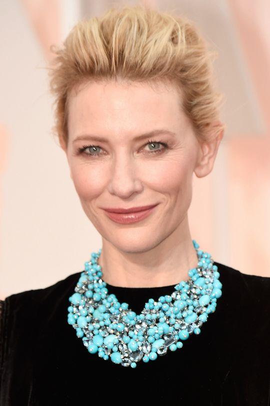 Cate Blanchett Oscars 2015  Makeup