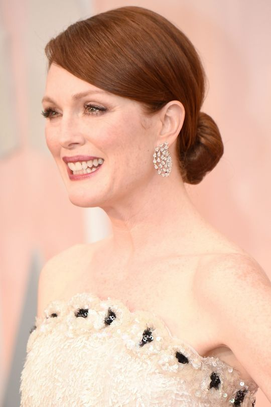 Julianne Moore Makeup for Oscars 2015